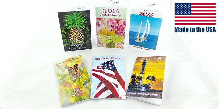 2016 Monthly Pocket Planners